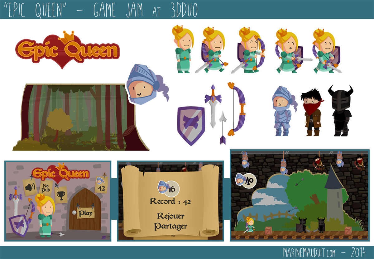 Extreem 2D Game Assets | Marine Mauduit | 2D/3D Game Artist RU27